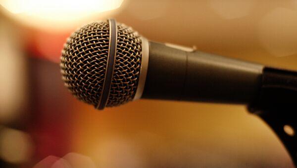 Микрофон, архивное фото - Sputnik Таджикистан