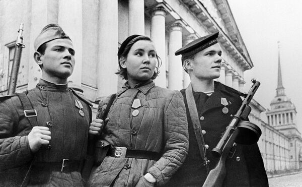 Защитники Ленинграда - Sputnik Таджикистан