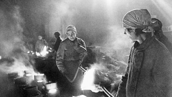В дни блокады - Sputnik Таджикистан