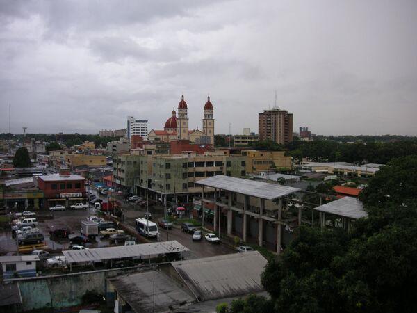 Вид на город Матурин (Венесуэла). Архивное фото - Sputnik Таджикистан