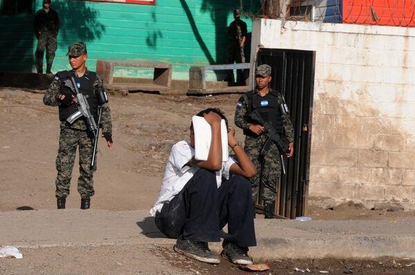 Военный патруль в Центральном административном районе Гондураса. Архивное фото - Sputnik Таджикистан