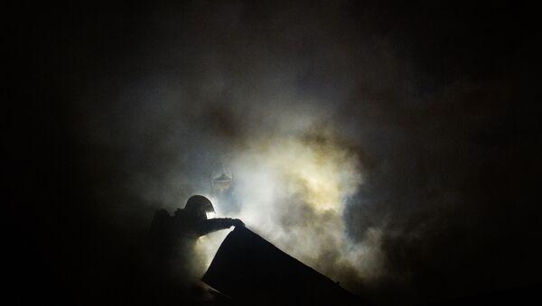 Пожар. Архивное фото - Sputnik Таджикистан
