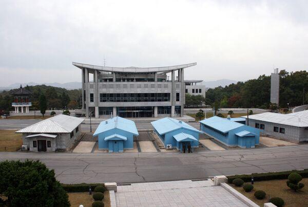 Граница между Северной и Южной Кореей. Архивное фото - Sputnik Таджикистан
