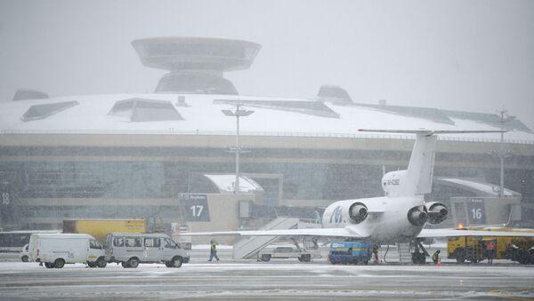 Терминал аэропорта Внуково. Архивное фото - Sputnik Таджикистан