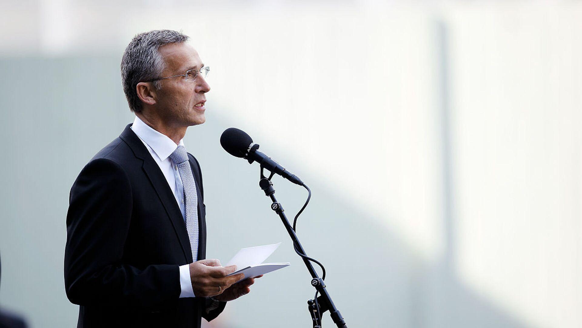 Генеральный секретарь НАТО Йенс Столтенберг. Архивное фото - Sputnik Таджикистан, 1920, 06.06.2021