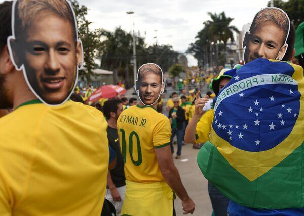 Футбол. Чемпионат мира - 2014. Матч Бразилия - Германия - Sputnik Таджикистан