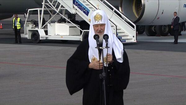 Патриарх Кирилл в Гаване напомнил о давней дружбе между Россией и Кубой - Sputnik Таджикистан
