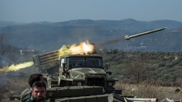 Сирийская армия в провинции Идлиб - Sputnik Таджикистан