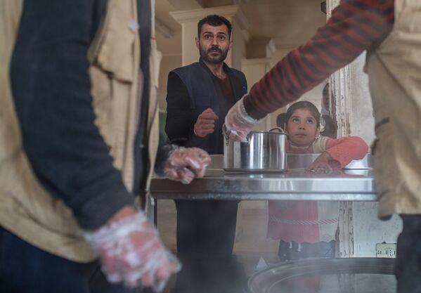 Лагерь беженцев в Дамаске - Sputnik Таджикистан