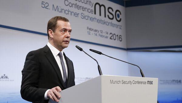 Премьер-министр РФ Д. Медведев принял участие в Мюнхенской конференции по безопасности - Sputnik Таджикистан