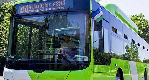 Автобус в Ташкенте. Архивное фото - Sputnik Таджикистан