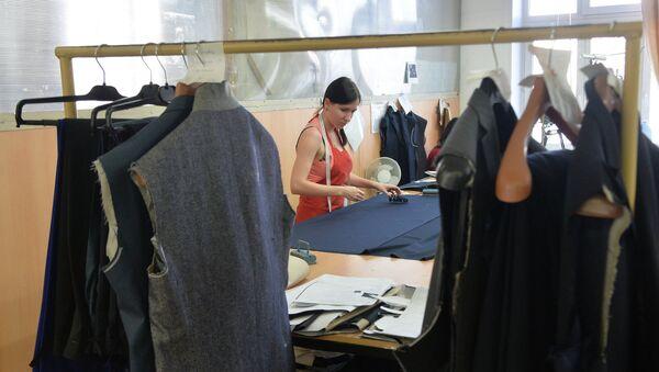 Текстильная продукция. Архивное фото - Sputnik Тоҷикистон