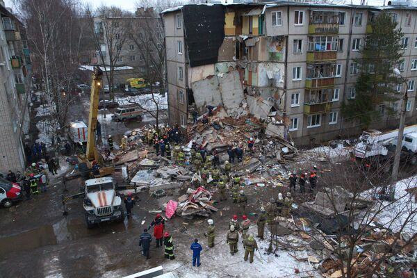 Взрыв бытового газа во Фрунзенском районе города Ярославля - Sputnik Таджикистан