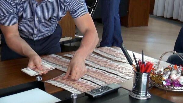 Задержание подозреваемого во взятке. Архивное фото - Sputnik Тоҷикистон