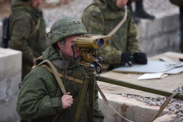 Подготовка военных Таджикистана на полигоне Ляур 201-й РВБ - Sputnik Таджикистан
