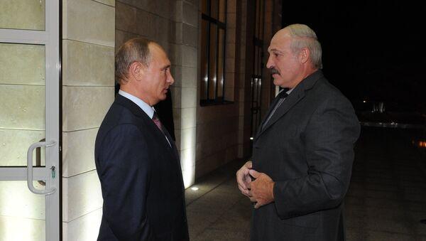 Президент РФ В.Путин встретился с президентами Казахстана и Белоруссии в сочинской резиденции - Sputnik Тоҷикистон