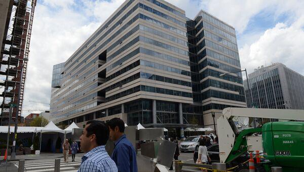 Здание Международного валютного фонда в Вашингтоне, архивное фото - Sputnik Таджикистан