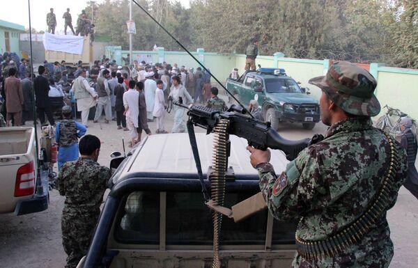 Афганские силы безопасности в провинции Кундуз. Архивное фото - Sputnik Таджикистан