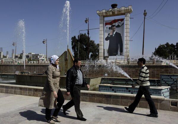 В сирийском городе Даръа. Архивное фото - Sputnik Таджикистан