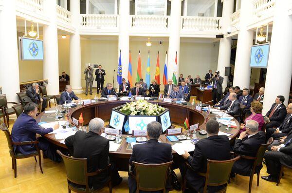 Заседание Совета Парламентской Ассамблеи ОДКБ. Архивное фото - Sputnik Таджикистан