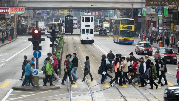 Города мира. Гонконг, Архивное фото - Sputnik Таджикистан