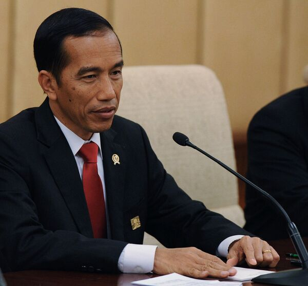 Индонезийский президент Джоко Видодо. Архивное фото - Sputnik Таджикистан