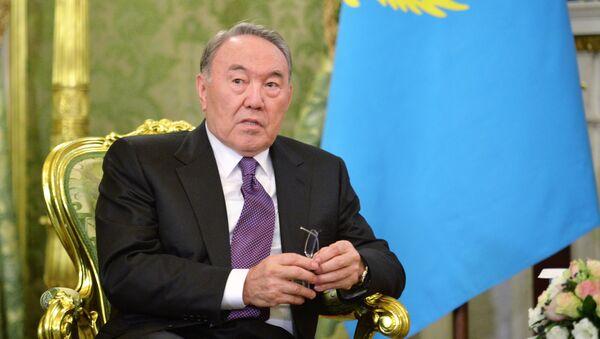 Президент Казахстана Нурсултан Назарбаев. Архивное фото - Sputnik Таджикистан