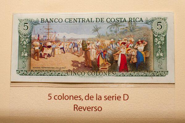 Коста-риканский колон. Архивное фото - Sputnik Таджикистан