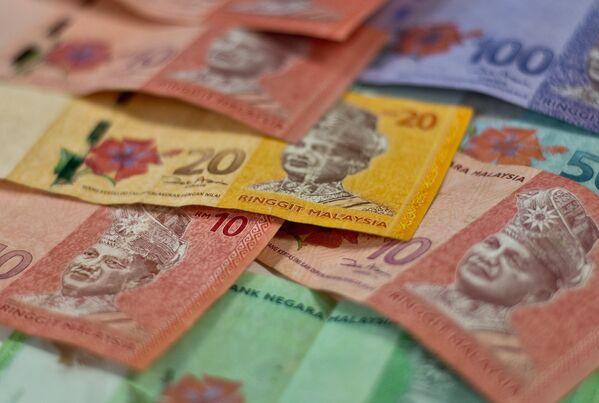 Малайзийский ринггит. Архивное фото - Sputnik Таджикистан