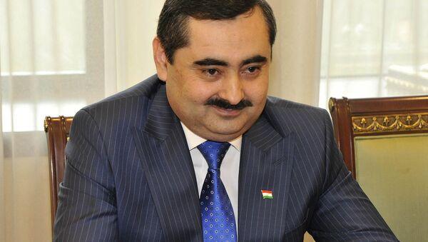 Чрезвычайный и Полномочный Посол Республики Таджикистан Музаффар Хусейнов - Sputnik Таджикистан