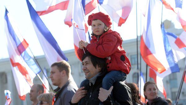 Крым накануне референдума - Sputnik Таджикистан