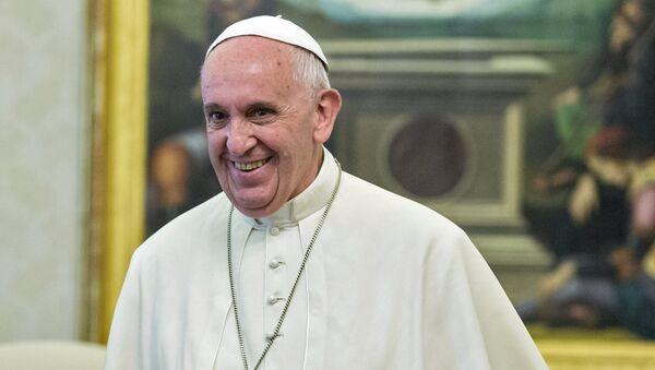Папа римский Франциск. Архивное фото - Sputnik Таджикистан