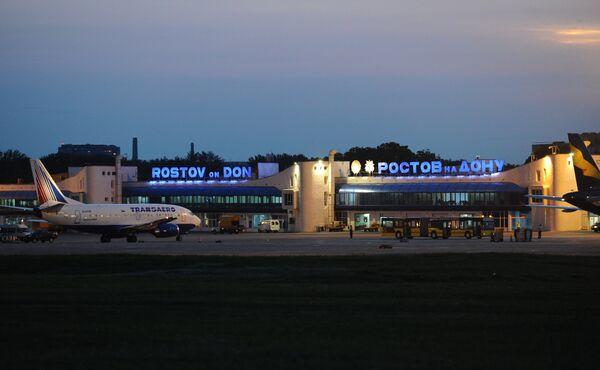 Международный аэропорт Ростов-на-Дону. Архивное фото - Sputnik Таджикистан