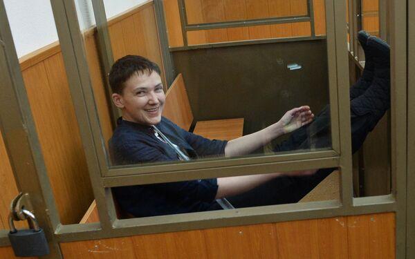Оглашение приговора Надежде Савченко - Sputnik Таджикистан