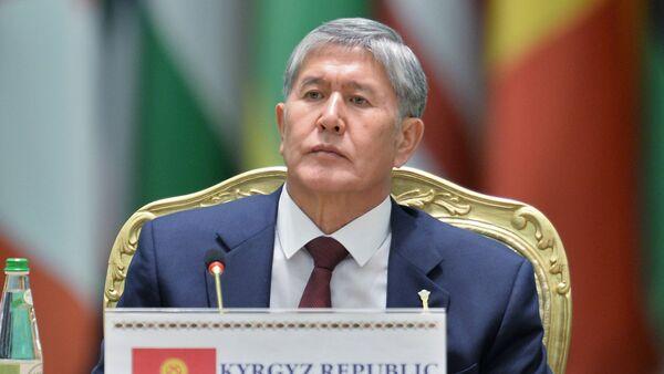 Алмазбек Атамбаев. Архивное фото - Sputnik Таджикистан