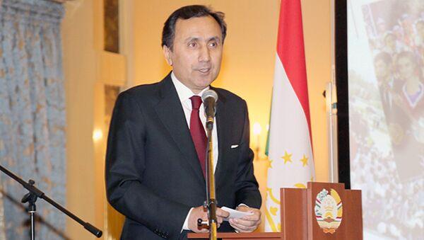 Посол РТ в РФ Имомуддин Сатторов - Sputnik Таджикистан