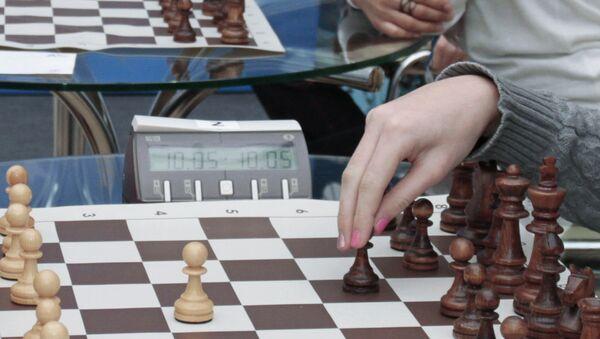 На турнире по шахматам. Архивное фото - Sputnik Таджикистан