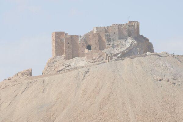 Разрушенная историческая часть Пальмиры - Sputnik Таджикистан