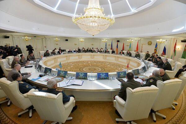 В работе комитета приняли участие делегации Азербайджана, Армении, Беларуси, Казахстана, Кыргызстана, России и Таджикистана. - Sputnik Таджикистан