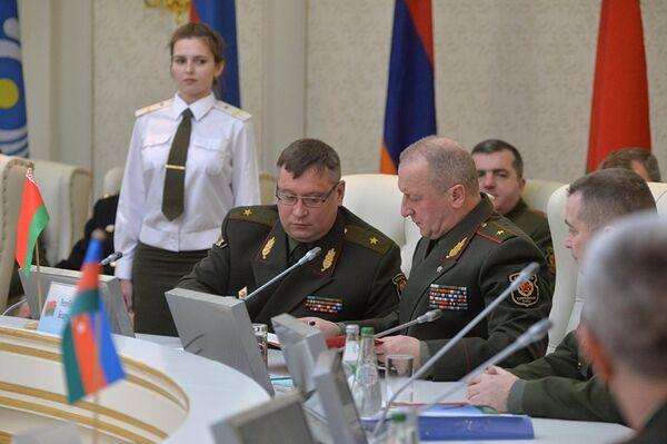 Главы штабов одобрили основы взаимодействия служб защиты государственной тайны Вооруженных сил. - Sputnik Таджикистан