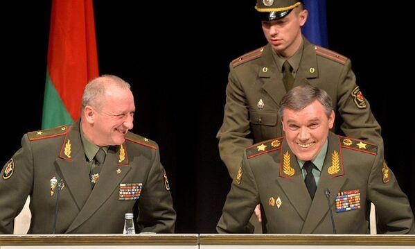 Встреча начальников штабов Вооруженных сил стран СНГ прошла конструктивно, о чем свидетельствует хорошее настроение его участников. - Sputnik Таджикистан