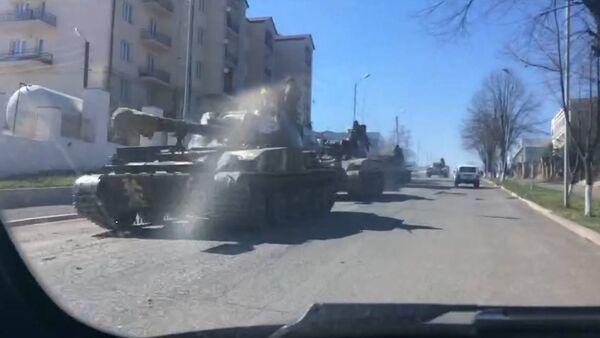 Ситуация в Степанакерте после обострения карабахского конфликта - Sputnik Таджикистан