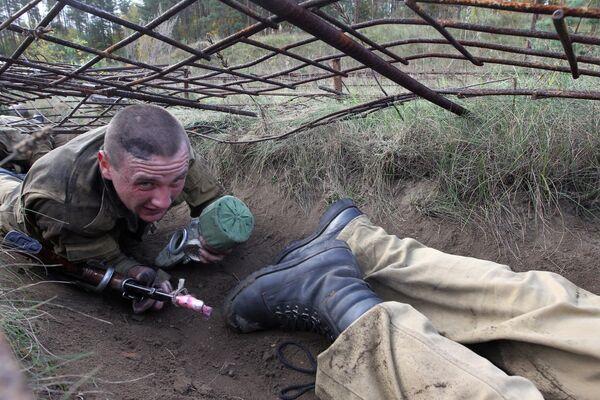 Белорусские спецназовцы. Архивное фото - Sputnik Таджикистан