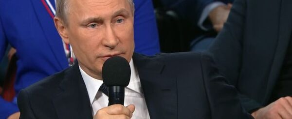 LIVE: Выступление Владимира Путина на медиафоруме ОНФ в Санкт-Петербурге - Sputnik Таджикистан