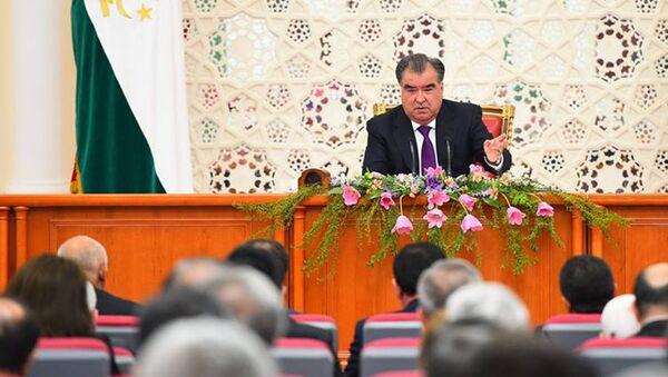 Заседание правительства Таджикистана 8 апреля 2016 года - Sputnik Таджикистан