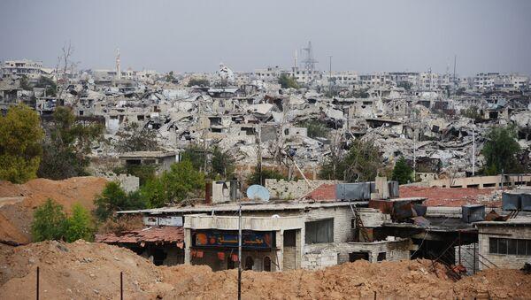 Ситуация в Дамаске в районе Джобар - Sputnik Таджикистан