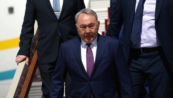 Первый президент Казахстана Нурсултан Назарбаев, архивное фото - Sputnik Таджикистан