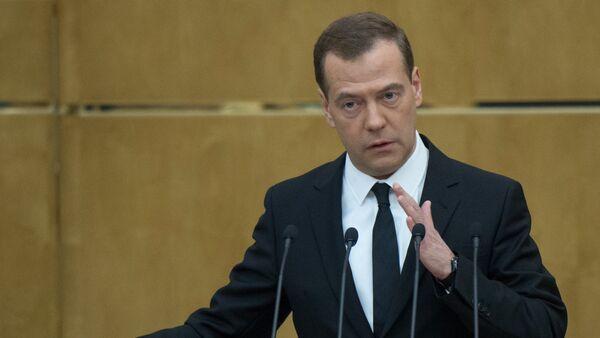 Премьер-министр России Дмитрий Медведев, архивное фото - Sputnik Таджикистан