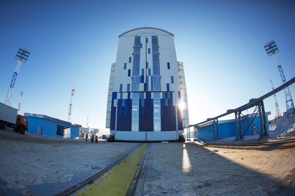 Космодром Восточный В Амурской области - Sputnik Таджикистан