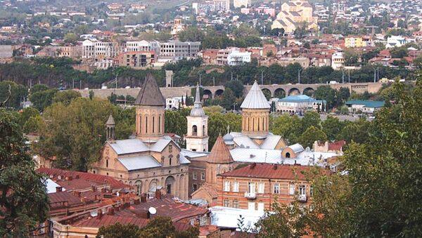 Город Тбилиси. Архивное фото - Sputnik Таджикистан